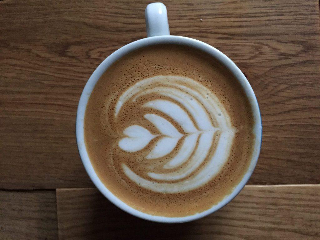 Latte art practise